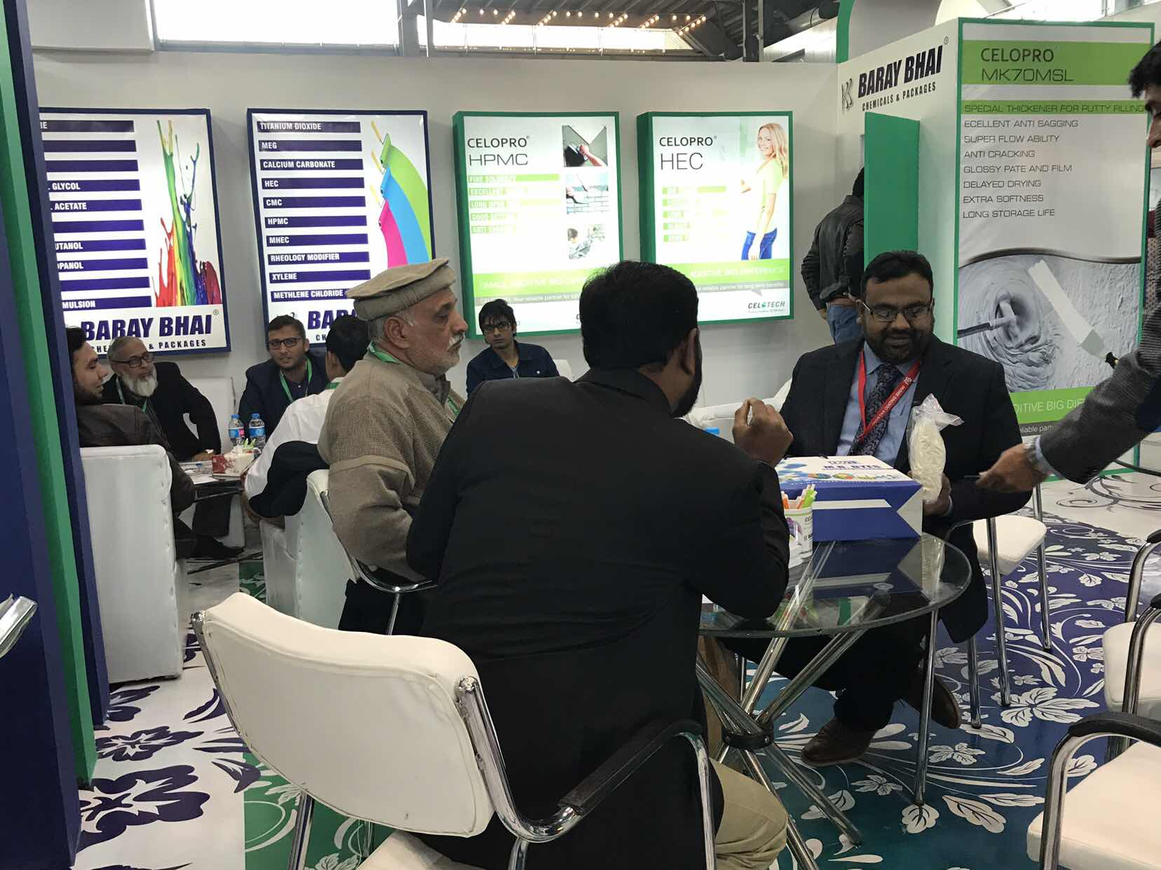 Pakisstan Coating Show, Celotech, Celopro, cellulose ethers