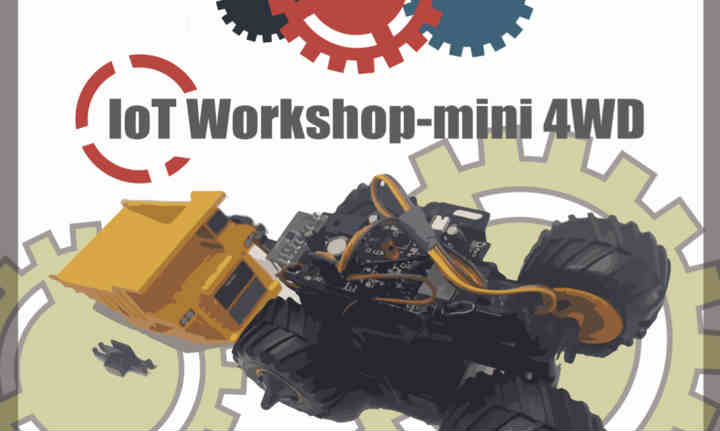 XNode Event - IoT Workshop - mini 4WDⅡ (Chinese Event)