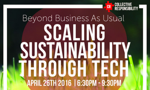 Scaling Sustainability Through Tech