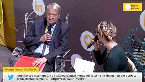 XNode @ Bpifrance Innogeneration with Professor Georges Haour
