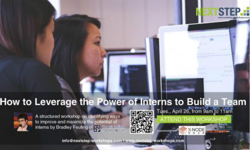 How to Leverage the Power of Interns to Build a Team
