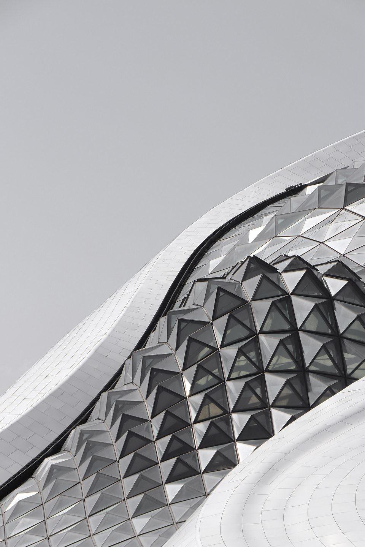 哈尔滨大剧院手绘