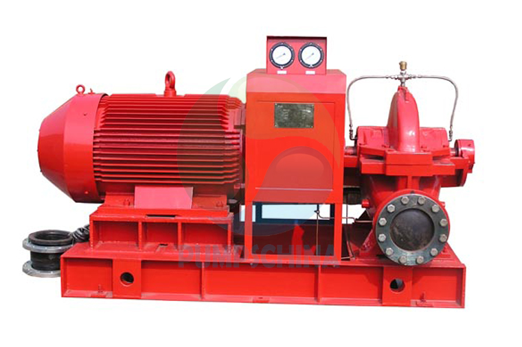 Electric fire pump/fire fighting pump