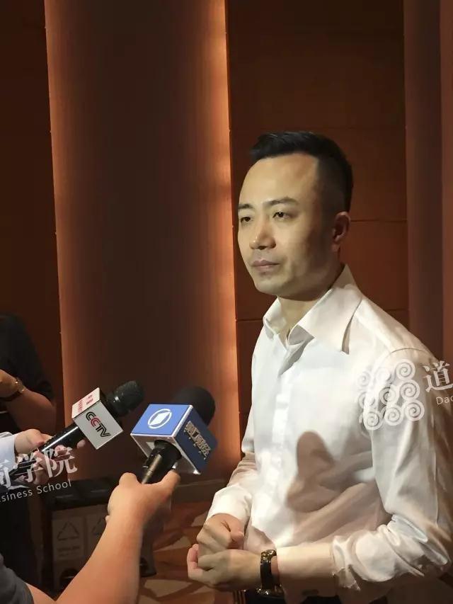 俞凌雄董事长接受媒体采访