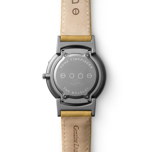 Eone 经典系列 BR-C-YELLOW 黄色帆布带 触感设计腕表