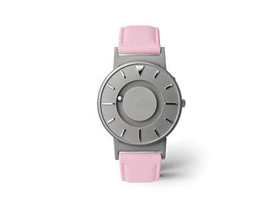EONE 经典系列 BR-L-PINK 粉红色皮带 触感设计腕表