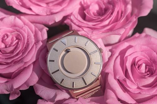EONE 典藏系列 BR-RO-GLD2 优雅玫瑰金 触感设计腕表