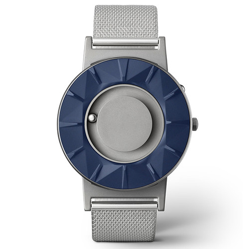 EONE 元素系列 BR-BLUE 蓝色银钢 触感设计腕表