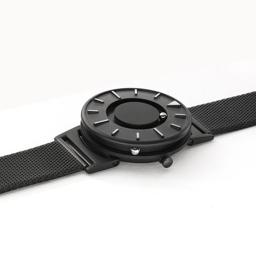 EONE 尊贵系列 BR-BLK  黑色钢带 触感设计腕表