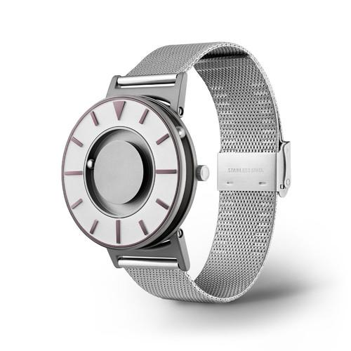 EONE 指南针系列 BR-COM-IRIS2 深紫色钢带 触感设计腕表