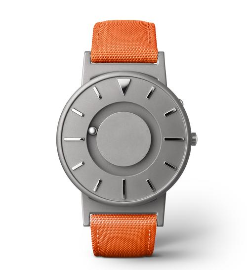 EONE 经典系列 BR-C-ORANGE 橙色帆布带 触感设计腕表