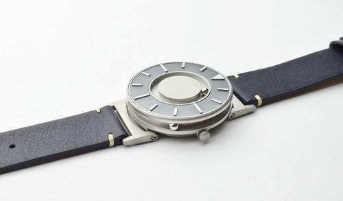 EONE 航海家系列 BR-VO-L-OC 深蓝色皮带 触感设计腕表
