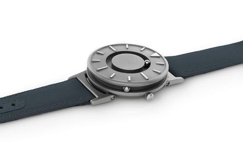 Eone 经典系列 BR-C-BLUE 蓝色帆布带 触感设计腕表