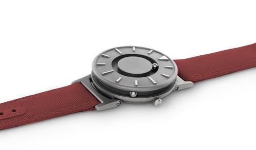 EONE 经典系列 BR-C-RED 红色帆布带 触感设计腕表