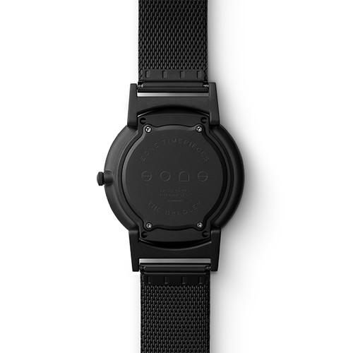 Eone BR-KU 酷MA萌定制版 黑色钢带 触感设计腕表