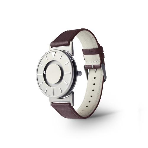 EONE 经典系列 BR-L-BRW 啡色皮带 触感设计腕表