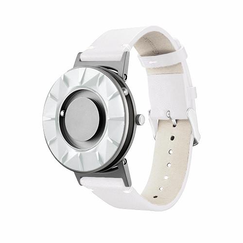 Eone 元素系列 BR-WHITE 白陶瓷白皮带 触感设计腕表