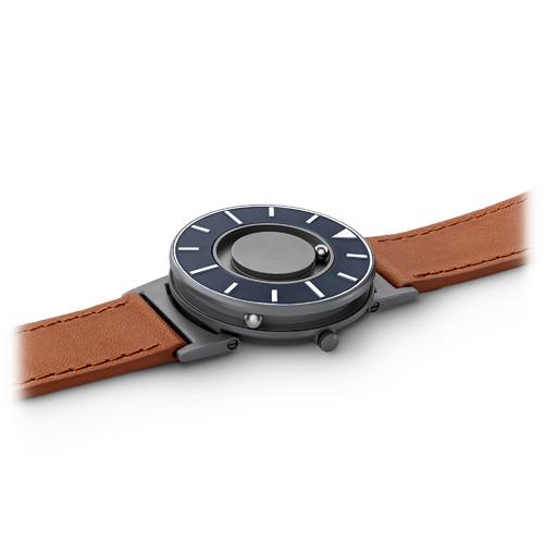 EONE 航海家系列 BR-DKVO 啡色皮带 触感设计腕表