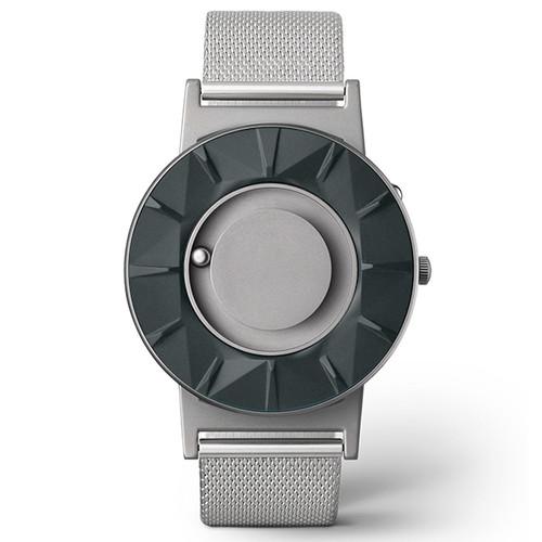 EONE 元素系列 BR-CHAR 灰岩银钢 触感设计腕表