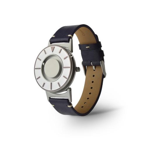 EONE 指南针系列 BR-IRIS-L-PU 紫色皮带 触感设计腕表
