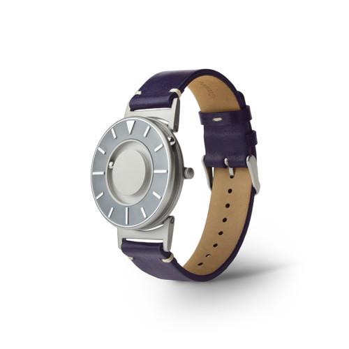 EONE 航海家系列 BR-VO-L-PU 紫色皮带 触感设计腕表