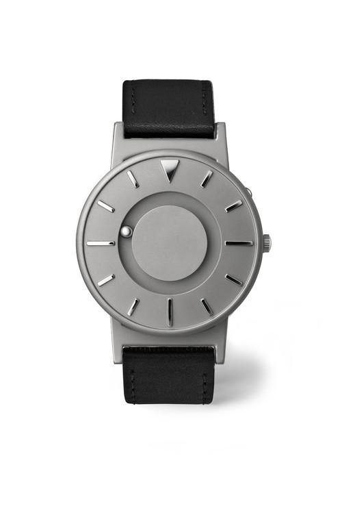 EONE 经典系列 BR-L-BLK 黑色皮带 触感设计腕表