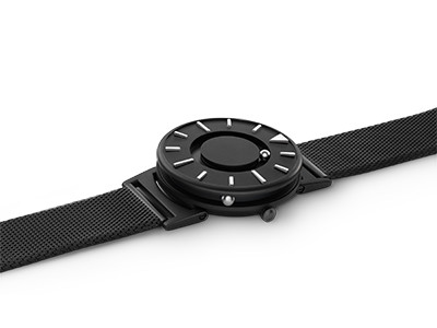 EONE 尊贵系列 BR-B-PEARL  珍珠黑色钢带 触感设计腕表