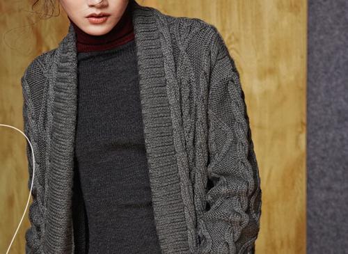 100% Pure Cashmere Long Cardigan  | Multiple Colors of Customization