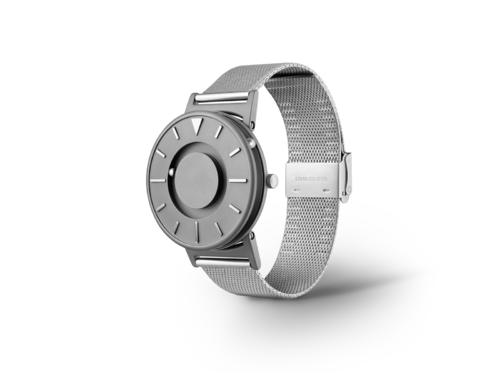 Eone 经典系列 BR-C-MESH 银色钢带 触感设计腕表