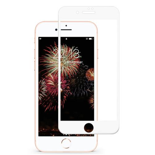 Tasikar iPhone 7 Plus Screen Protector / iPhone 8 Plus Screen Protector Full Coverage (White)