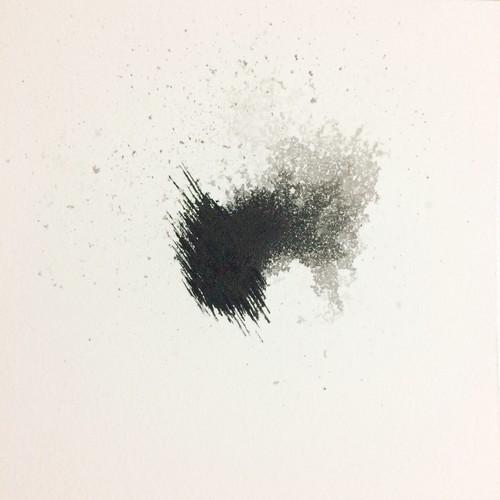 村木紀之紙本作品「跡」系列小幅作品限量100幅