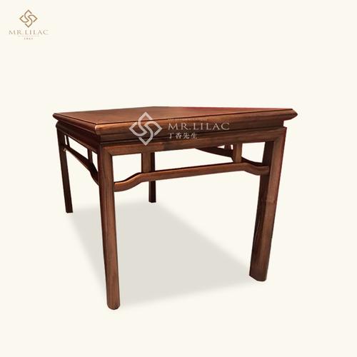胡桃木新中式边桌