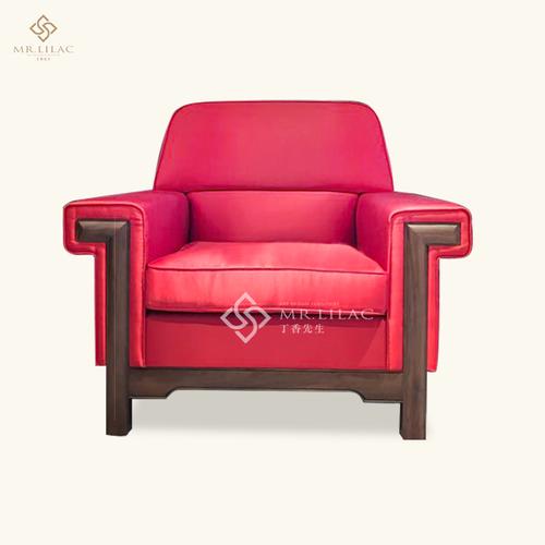 胡桃木实木新中式沙发