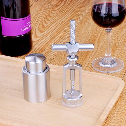欧烹创意不锈钢红酒开瓶器
