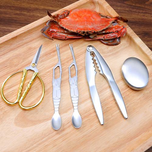 欧烹吃蟹工具套装