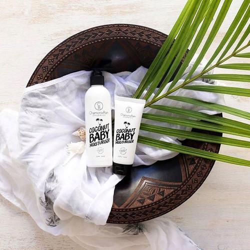 澳洲ChamonixRainOrganics小众天然椰子婴儿儿童沐浴洗发二合一滋润500ml